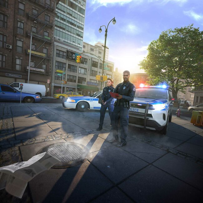 Keyvisual Police Simulator Patrol Officers